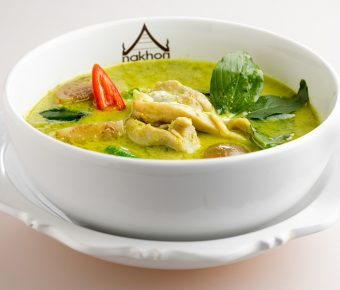 Green curry – chicken