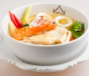 Tom yum soup - seafood (clear base)